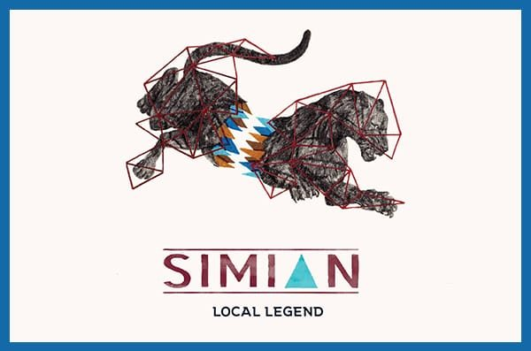 Simian Ales Local Legend IPA